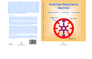 Switched Reluctance Machine
