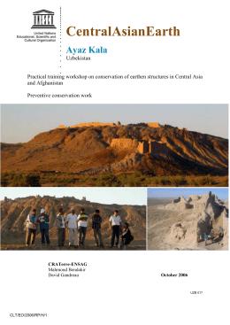 Ayaz Kala, Uzbekistan
