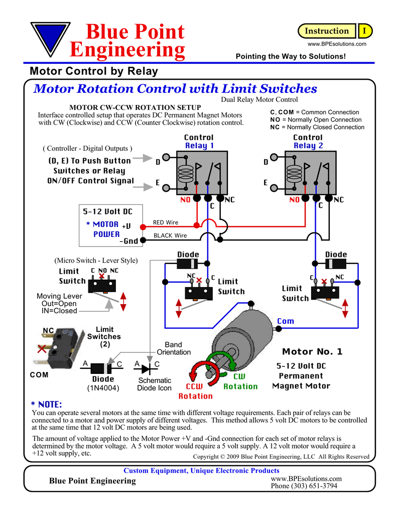 12 Volt Dc Limit Switch Wiring Diagram - Wiring Diagram Home Dc Motor Switch Wiring Diagram on