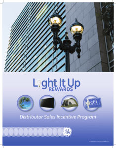 Distributor Sales Incentive Program
