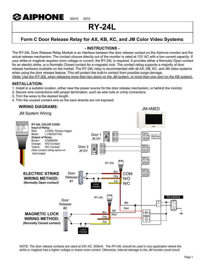 Aiphone Jo Wiring Diagram Wiring Diagram Master Blogs