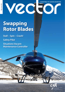Swapping Rotor Blades - Civil Aviation Authority of New Zealand