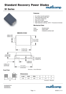 Standard Recovery Power Diodes