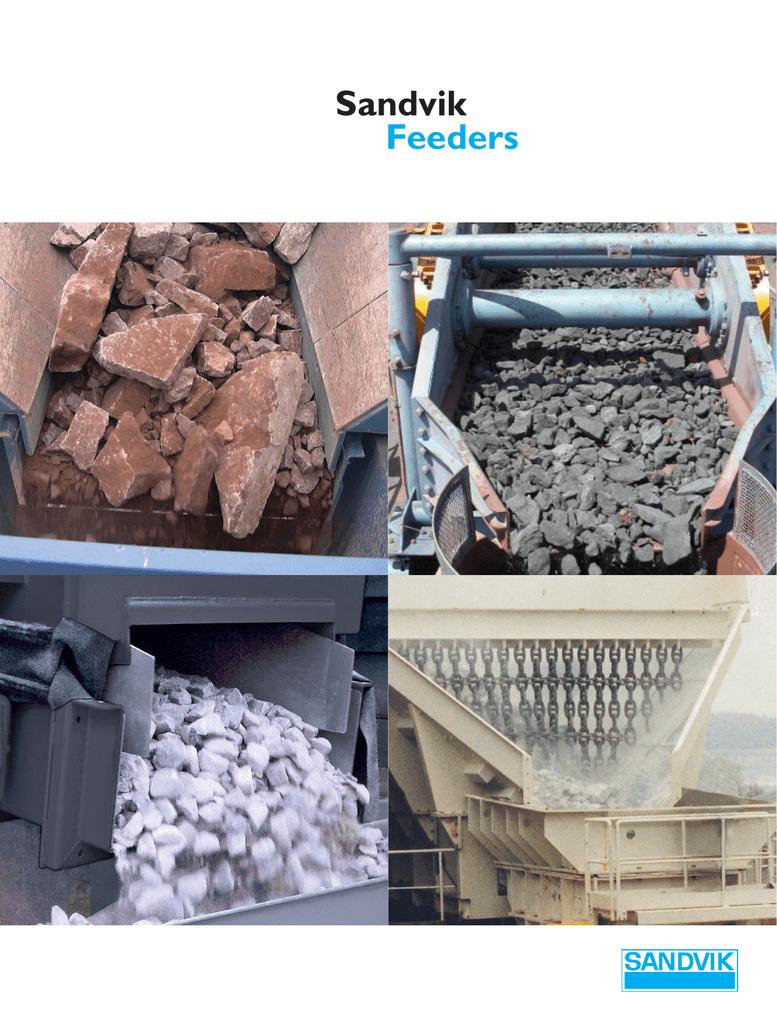 Folder Sandvik Feeders - Sandvik Mining and Construction
