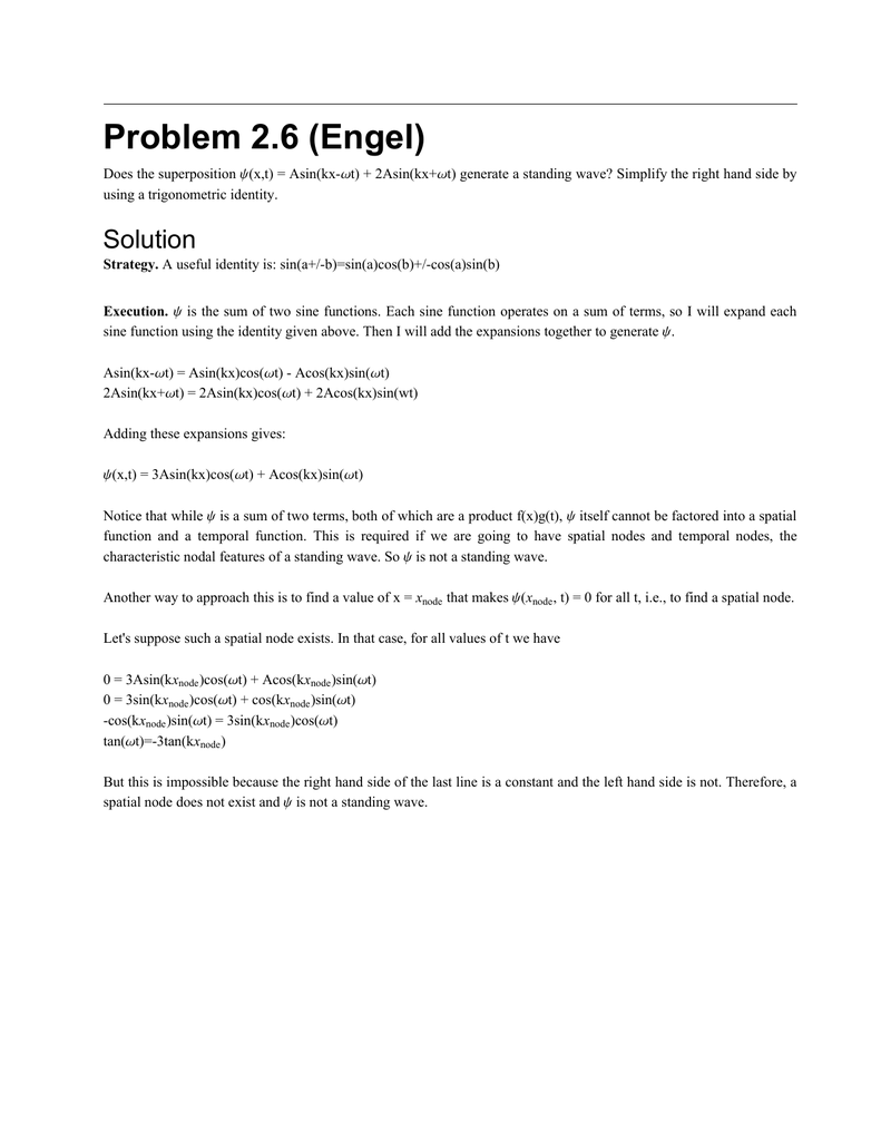 Problem 2 6 (Engel)