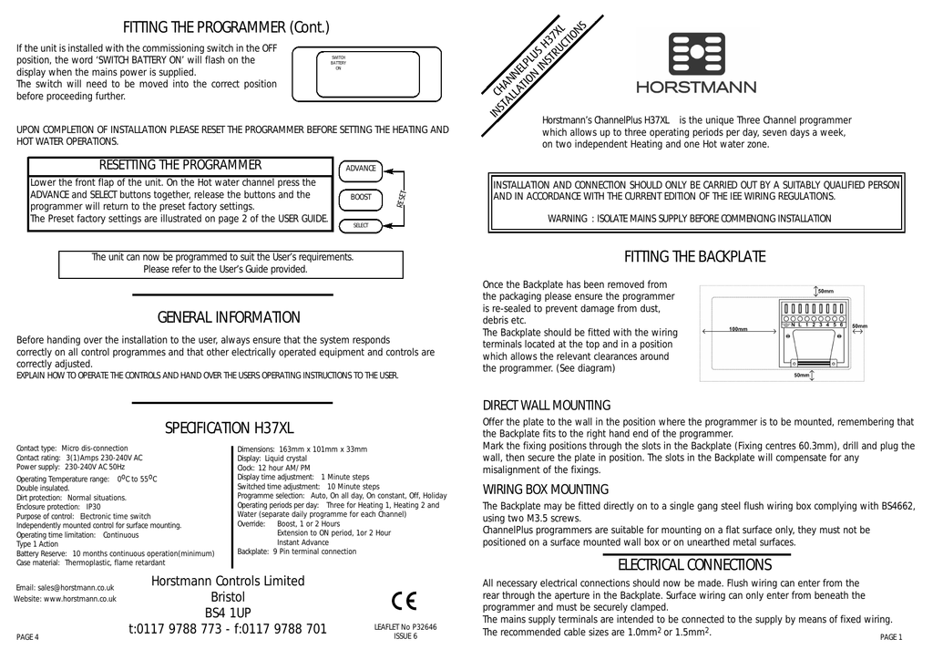 018373854_1 60e6c9ec2464824f89285cce1a61f710 fitting the backplate electrical connections horstmann 4 channel programmer wiring diagram at mifinder.co