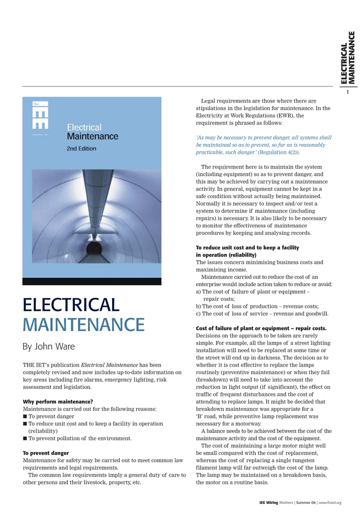 Peachy Wm Summer 06 Iet Electrical Wiring 101 Ariotwise Assnl