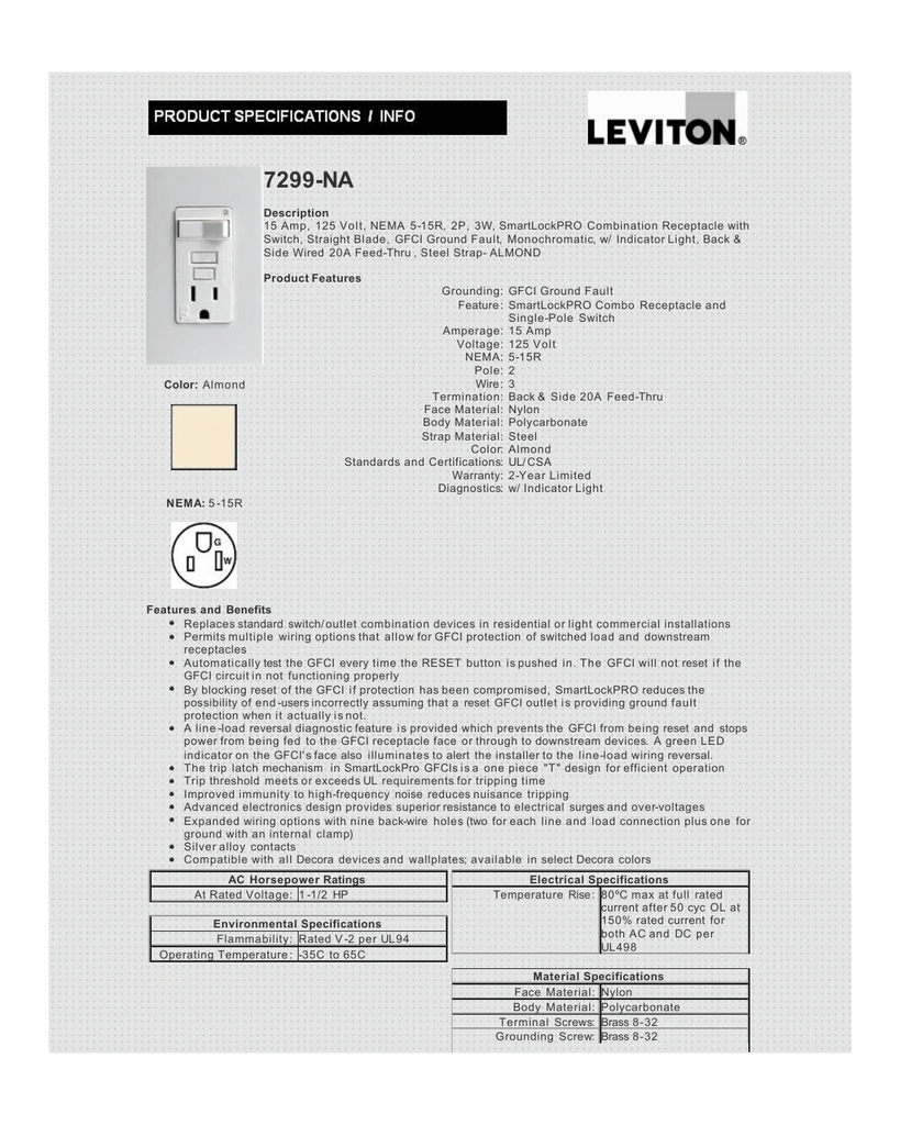 7299 Na From Leviton Electrical And Electronic Products Nom 057 Switch Wiring Diagram