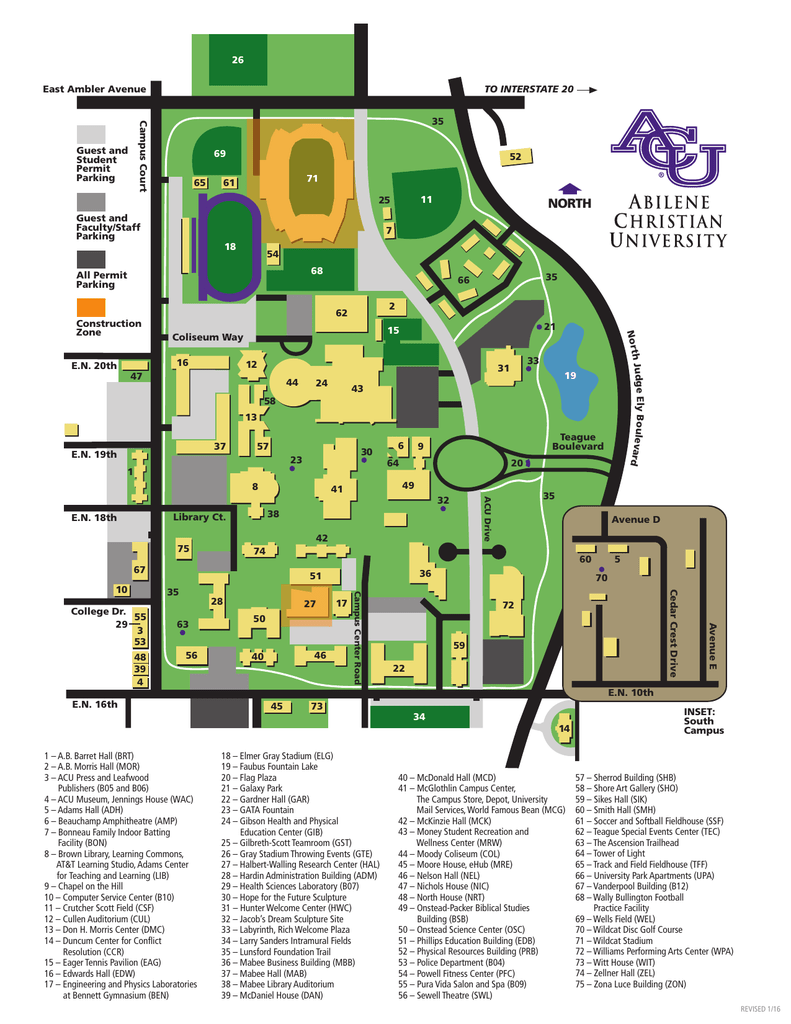 ACU Campus Map on kean college campus map, manchester community college ct campus map, cambridge college campus map, northern essex community college campus map, clinton college campus map, plano east high school campus map, bryant college campus map, bethany college campus map, macmurray college campus map, northern new mexico college campus map, massachusetts college of liberal arts campus map, goodwin college campus map, vernon college campus map, potomac state campus map, riverside college campus map, husson college campus map, lesley college campus map, wells college campus map, bunker hill community college campus map, york college of pa campus map,