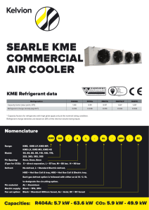 searle kme commercial air cooler
