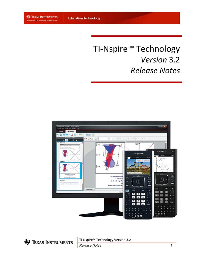TI-Nspire™ Technology