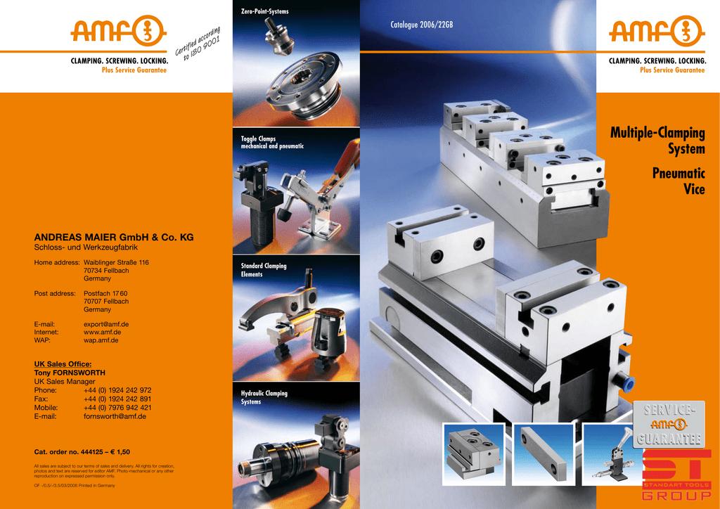 Clamping set COM-D bore 42mm size 42-75