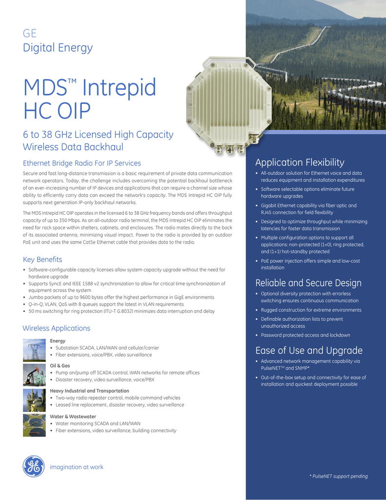 MDS™ Intrepid HC OIP