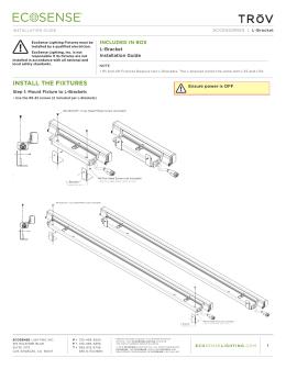 TrŌv L Bracket Installation Guide