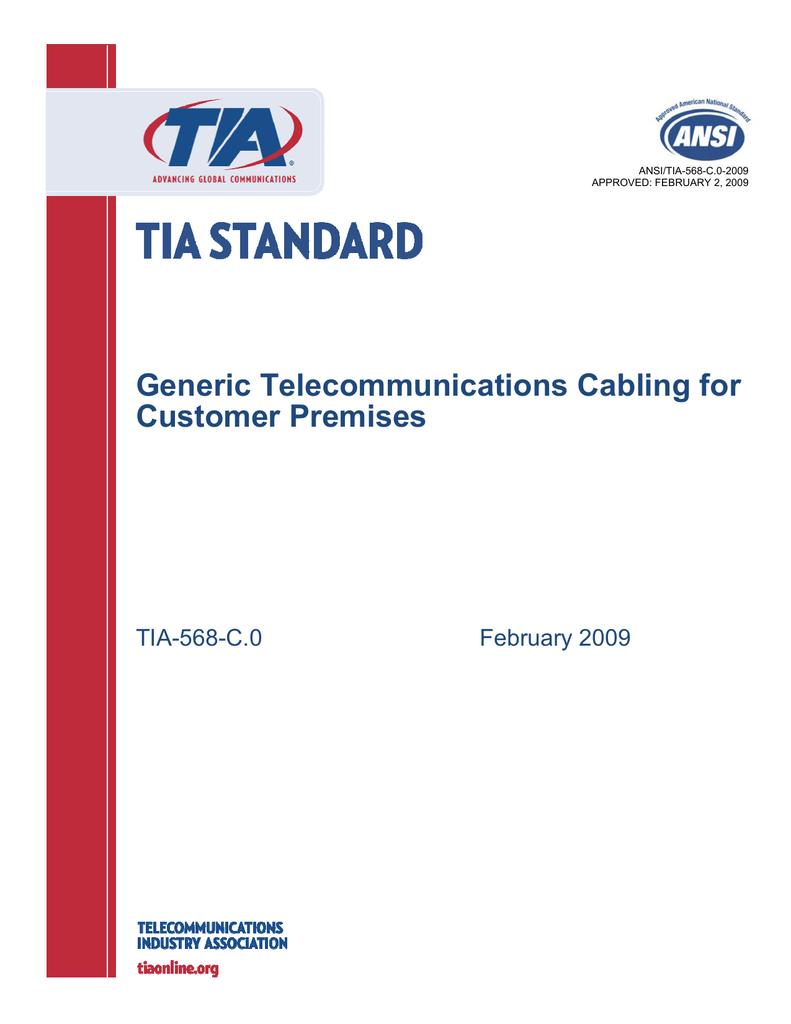Outstanding Tia 568 C Wiring Wiring Diagram Wiring Digital Resources Remcakbiperorg
