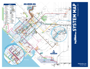 System Map - Big Blue Bus