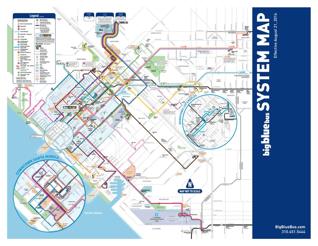 Bundy Campus Map.System Map Big Blue Bus