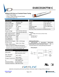 D10CC55347TW-C - Universal Lighting Technologies