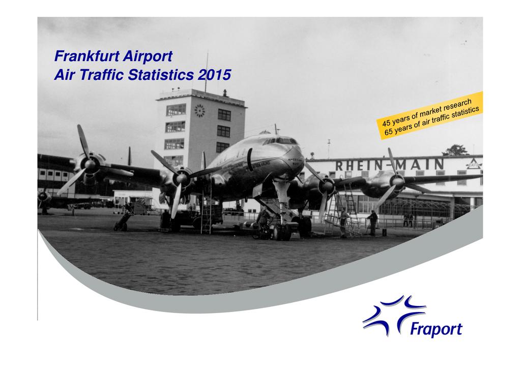 Frankfurt Airport Air Traffic Statistics 2015