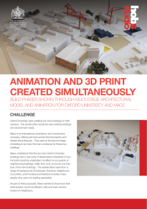 ANIMATION AND 3D PRINT CREATED SIMULTANEOUSLY
