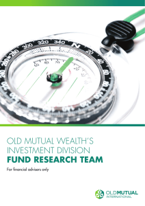 old mutual wealth`s investment division fund research team