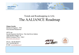 The AALIANCE Roadmap p