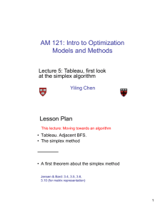To step 1 - Introduction to Optimization: Models and Methods