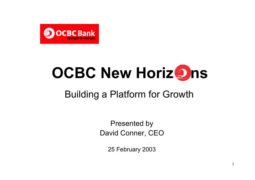 OCBC New Horiz ns