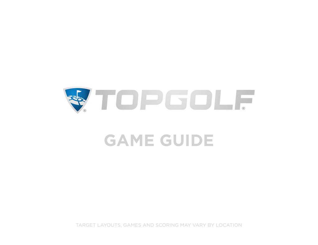 Topgolf Game Guide