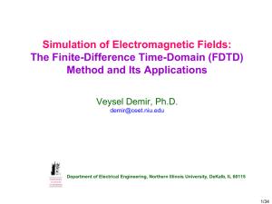 2D FDTD Ez implementation