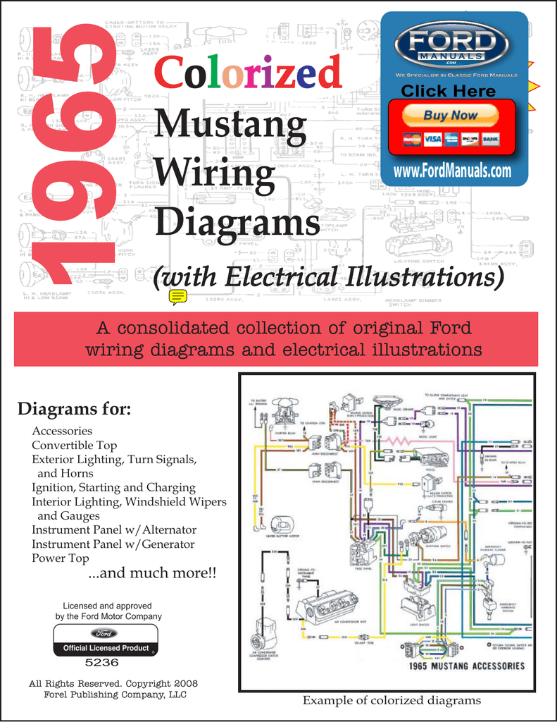 2008 Mustang Turn Signal Wiring Diagram Library Demo 1965 Colorized Diagrams