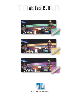 TokiLux RGB - Tokistar Lighting  sc 1 st  studylib.net & Exhibitor RGB - Tokistar Lighting azcodes.com