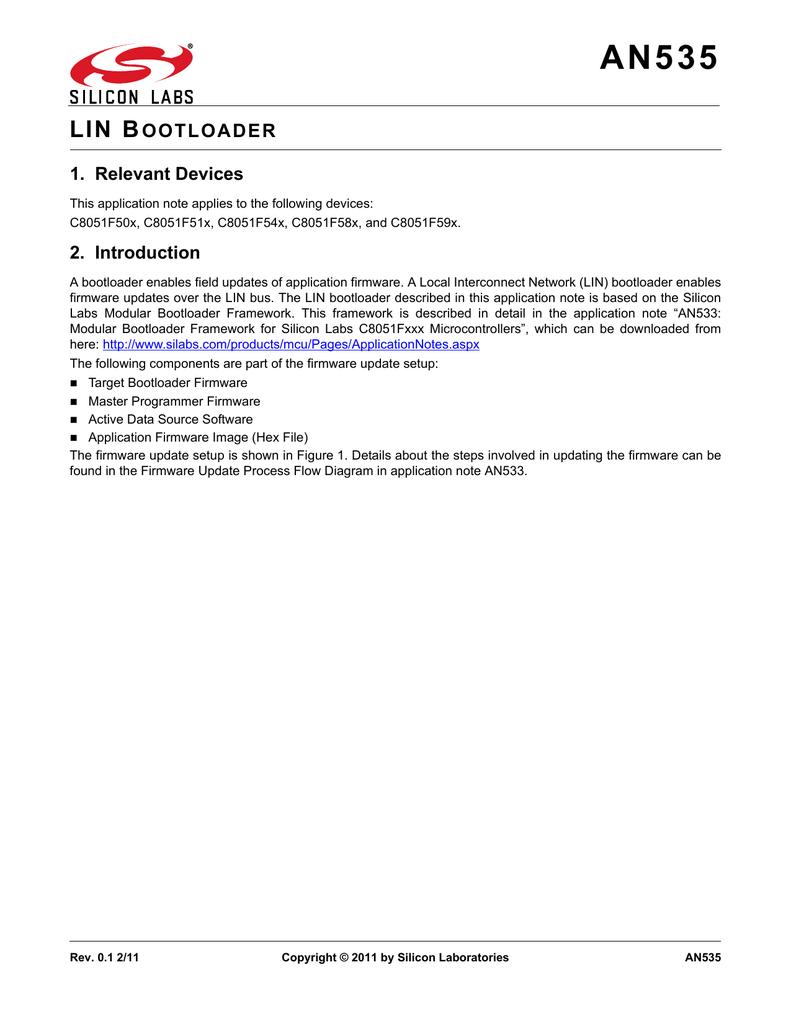 lin bootloader
