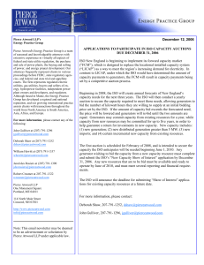December 12, 2006 Note: This email newsletter may be deemed to
