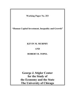 Human Capital, Development, and Growth