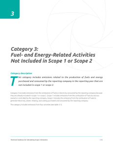 Category 3 - Fuel- and energy-related activities