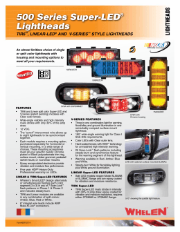 motorcycle touring box warning system strobes r us Wiring Strobe Diagram Light Whelen Ups64lx 500 series super led® lightheads