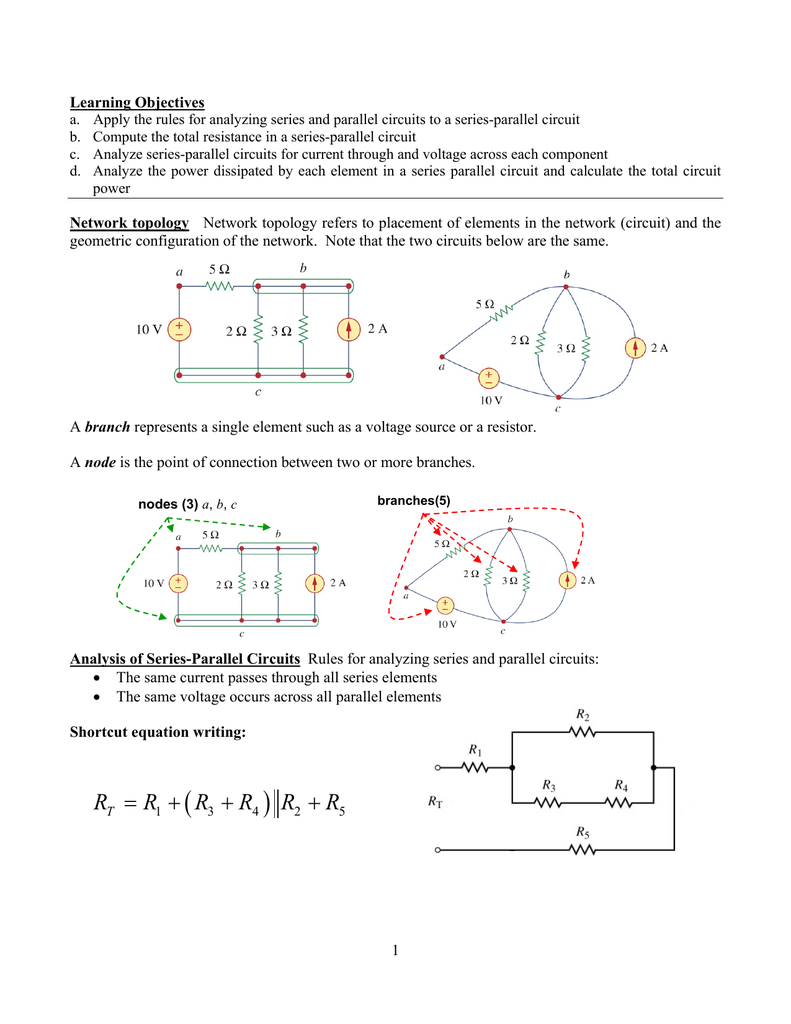 Series Parallel Circuits What Are And