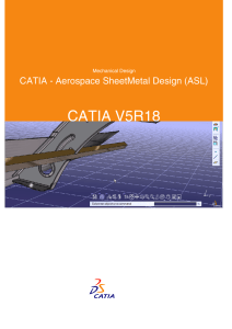 CATIA - Aerospace SheetMetal Design (ASL)