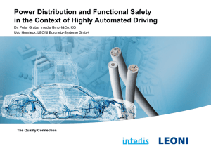 Power Distribution and Functional Safety in the Context of