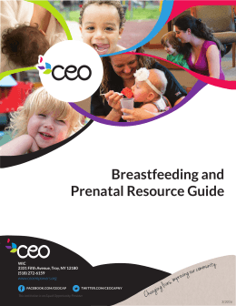WIC Resource Guide