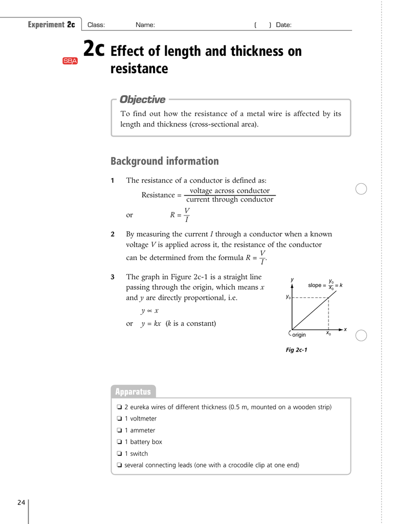 how does the length of the wire affect resistance