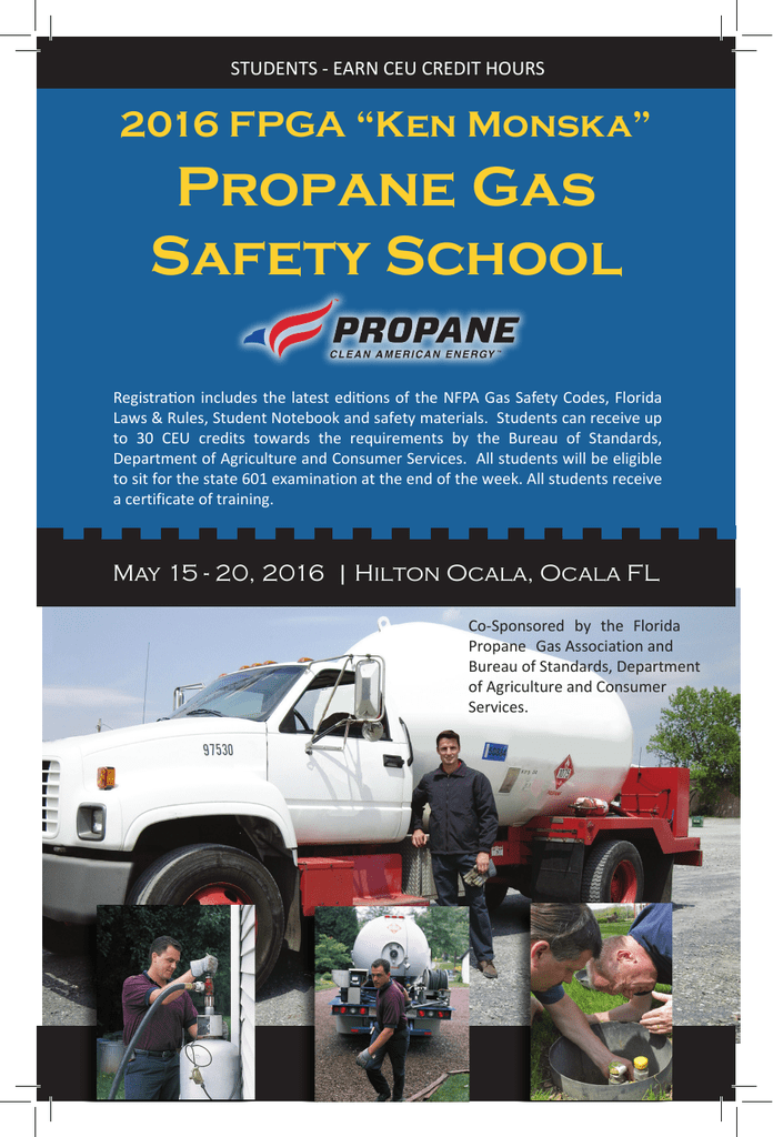 Propane Gas Safety School - Florida Propane Gas Association