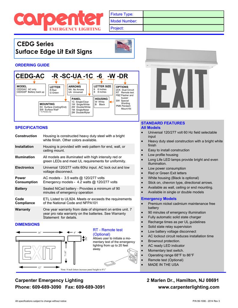 Cedg Surface 2017 Carpenter Emergency