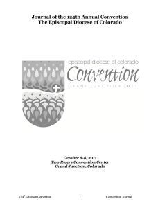 Journal of 124th Annual Convention