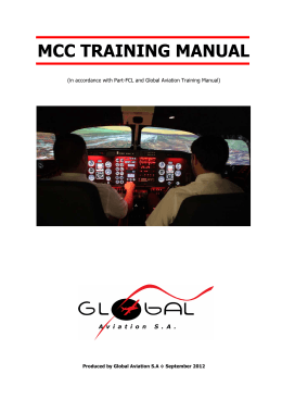 mcc training manual - Global Aviation SA