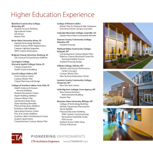 Higher Education Experience