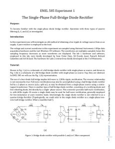 1 The Single-Phase Full-Bridge Diode Rectifier