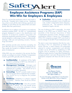 Employee Assistance Programs