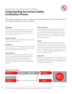 Understanding the Intrinsic Safety Certification Process